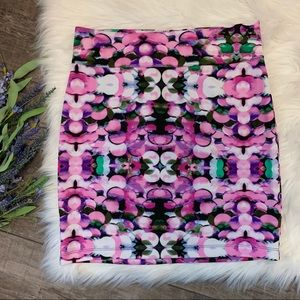 Nanette Lepore | Floral Pencil Skirt